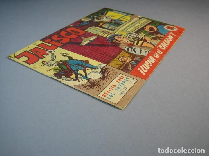 """Tebeos: JALISCO (1963, BRUGUERA) 13 · 9-III-1964 · LUCHA EN EL """"SALOON"""" - Foto 3 - 136086558"""