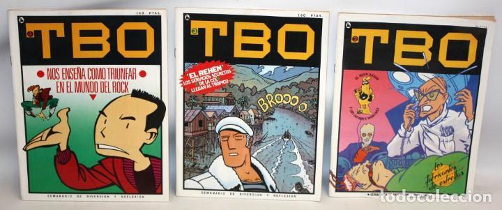 TBO-SEMANARIO DE DIVERSION Y REFLEXION-3 NUMEROS-BUEN ESTADO. (Tebeos y Comics - Bruguera - Otros)
