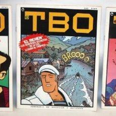 Tebeos: TBO-SEMANARIO DE DIVERSION Y REFLEXION-3 NUMEROS-BUEN ESTADO.. Lote 136162742