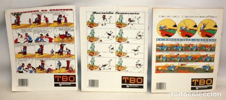 Tebeos: TBO-SEMANARIO DE DIVERSION Y REFLEXION-3 NUMEROS-BUEN ESTADO. - Foto 2 - 136162742