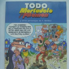Tebeos: ALBUM COLECCION TODO MORTADELO Y FILEMON , Nº 2 . Y OTROS PERSONAJES DE IBAÑEZ. Lote 136174102
