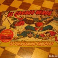 BDs: EL COSACO VERDE Nº 124 ORIGINAL BRUGUERA 1962. Lote 136192726