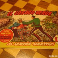 BDs: EL COSACO VERDE Nº 128 ORIGINAL BRUGUERA 1962. Lote 136192810
