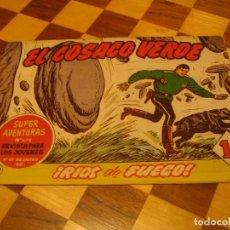Tebeos: EL COSACO VERDE Nº 133 ORIGINAL BRUGUERA 1962. Lote 136193206