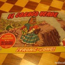 Tebeos: EL COSACO VERDE Nº 134 ORIGINAL BRUGUERA 1962. Lote 136193262
