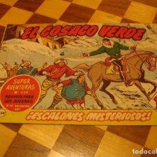 Tebeos: EL COSACO VERDE Nº 138 ORIGINAL BRUGUERA 1962. Lote 136193306
