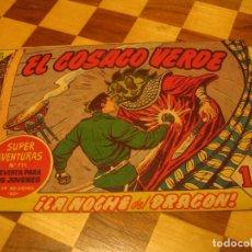 Tebeos: EL COSACO VERDE Nº 144 ORIGINAL BRUGUERA 1962 ÚLTIMO NÚMERO. Lote 136193390