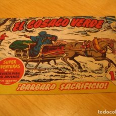 Tebeos: EL COSACO VERDE Nº 59 ORIGINAL BRUGUERA 1962 . Lote 136268690