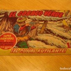 Tebeos: EL COSACO VERDE Nº 55 ORIGINAL BRUGUERA 1962 . Lote 136268806