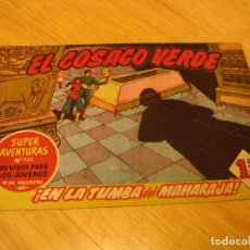 Tebeos: EL COSACO VERDE Nº 51 ORIGINAL BRUGUERA 1962 . Lote 136268934