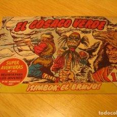 Tebeos: EL COSACO VERDE Nº 58 ORIGINAL BRUGUERA 1962 . Lote 136269230