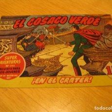 Tebeos: EL COSACO VERDE Nº 37 ORIGINAL BRUGUERA 1962 . Lote 136270018