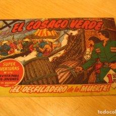 Tebeos: EL COSACO VERDE Nº 33 ORIGINAL BRUGUERA 1962 . Lote 136270698