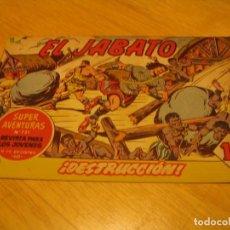 Tebeos: EL JABATO Nº 231 ORIGINAL BRUGUERA AÑOS SESENTA. Lote 136277646