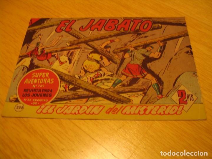 EL JABATO Nº 255 ORIGINAL BRUGUERA AÑOS SESENTA (Tebeos y Comics - Bruguera - Jabato)