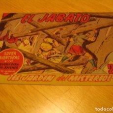 Tebeos: EL JABATO Nº 255 ORIGINAL BRUGUERA AÑOS SESENTA. Lote 136279318
