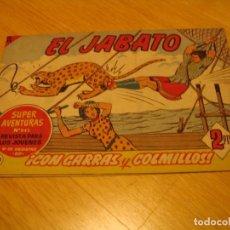Tebeos: EL JABATO Nº 292 ORIGINAL BRUGUERA AÑOS SESENTA. Lote 136279974