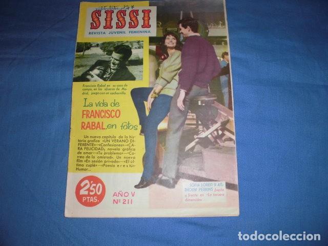 SISSI. REVISTA JUVENIL FEMENINA Nº 211. EDITORIAL BRUGUERA. (Tebeos y Comics - Bruguera - Sissi)