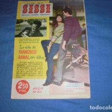 Tebeos: SISSI. REVISTA JUVENIL FEMENINA Nº 211. EDITORIAL BRUGUERA.. Lote 136316774