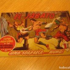 Tebeos: EL JABATO Nº 76 ORIGINAL BRUGUERA AÑOS SESENTA. Lote 136371494
