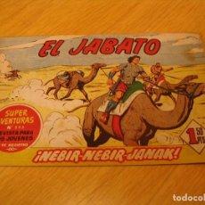 Tebeos: EL JABATO Nº 87 ORIGINAL BRUGUERA AÑOS SESENTA. Lote 136372138