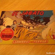 Tebeos: EL JABATO Nº 201 ORIGINAL BRUGUERA AÑOS SESENTA. Lote 136373250