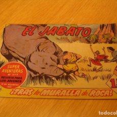 Tebeos: EL JABATO Nº 222 ORIGINAL BRUGUERA AÑOS SESENTA. Lote 136374978
