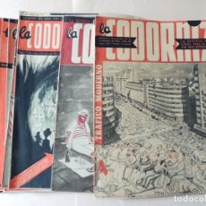 Tebeos: LA CODORNIZ / 20 EJEMPLARES DIFERENTES DE LOS AÑOS 1952 - 1953 / BUEN ESTADO. Lote 136377822