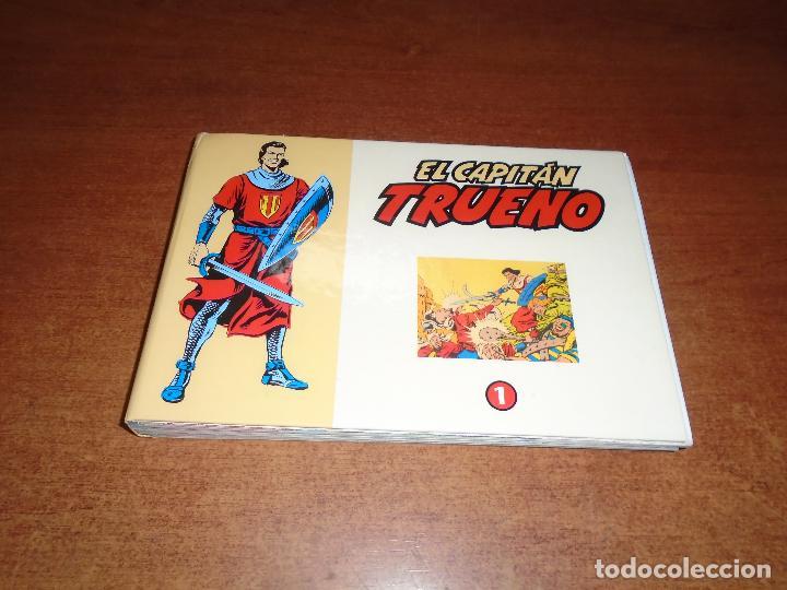 CAPITÁN TRUENO COLECCIÓN DAN REEDICIÓN EL PERIÓDICO Nº 1 CUADERNILLOS Nº 1 AL 32 (Tebeos y Comics - Bruguera - Capitán Trueno)