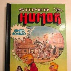 Tebeos: SUPER HUMOR BENITO BONIATO Nº 1. BRUGUERA 1ª EDICION 1984. Lote 136430398
