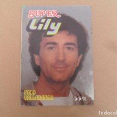 Tebeos: SUPER LILY Nº 61 BRUGUERA 1981 PACO VALLADARES. Lote 136437486