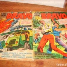 Tebeos: BRAVO NºS 2 Y 7. BRUGUERA. . Lote 136485798