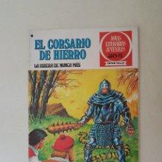 Tebeos: EL CORSARIO DE HIERRO. SERIE ROJA. Nº 37. 1ª EDICIÓN. BRUGUERA.. Lote 136501254