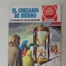 Tebeos: EL CORSARIO DE HIERRO. SERIE ROJA. Nº 9. 1ª EDICIÓN. BRUGUERA.. Lote 136501454