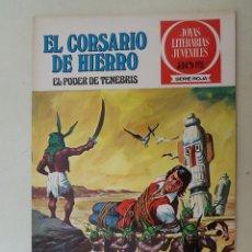 Tebeos: EL CORSARIO DE HIERRO. SERIE ROJA. Nº 7. 1ª EDICIÓN. BRUGUERA.. Lote 136501642