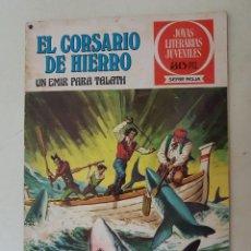 Tebeos: EL CORSARIO DE HIERRO. SERIE ROJA. Nº 23. 1ª EDICIÓN. BRUGUERA.. Lote 136502358