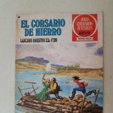 Tebeos: EL CORSARIO DE HIERRO. SERIE ROJA. Nº 45. 1ª EDICIÓN. BRUGUERA.. Lote 136503026