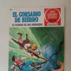 Tebeos: EL CORSARIO DE HIERRO. SERIE ROJA. Nº 27. 1ª EDICIÓN. BRUGUERA.. Lote 136503206