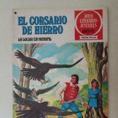 Tebeos: EL CORSARIO DE HIERRO. SERIE ROJA. Nº 38. 1ª EDICIÓN. BRUGUERA.. Lote 136503374