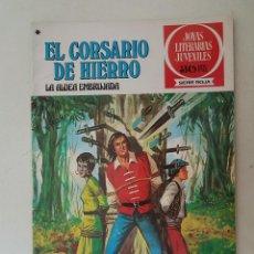 Tebeos: EL CORSARIO DE HIERRO. SERIE ROJA. Nº 40. 1ª EDICIÓN. BRUGUERA.. Lote 136503890