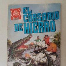 Tebeos: EL CORSARIO DE HIERRO. SERIE ROJA. Nº 57. 1ª EDICIÓN. BRUGUERA.. Lote 136505350