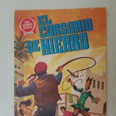 Tebeos: EL CORSARIO DE HIERRO. SERIE ROJA. Nº 58. 1ª EDICIÓN. BRUGUERA.. Lote 136505478