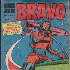 Tebeos: BRAVO- REVISTA JUVENIL- Nº 9 - MICHEL TANGUY-BLUEBERRY-AQUILES TALON-GALAX-1968-CORRECTO-LEAN-9518. Lote 136516345