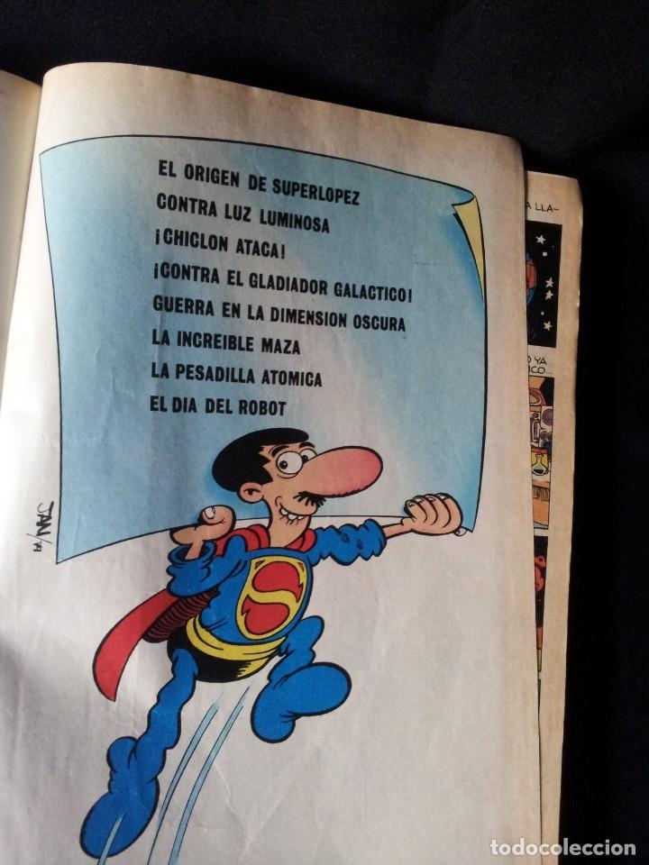 Tebeos: SUPER LOPEZ Nº 1 - BRUGUERA, SEGUNDA EDICION 1983 - Foto 3 - 136656266