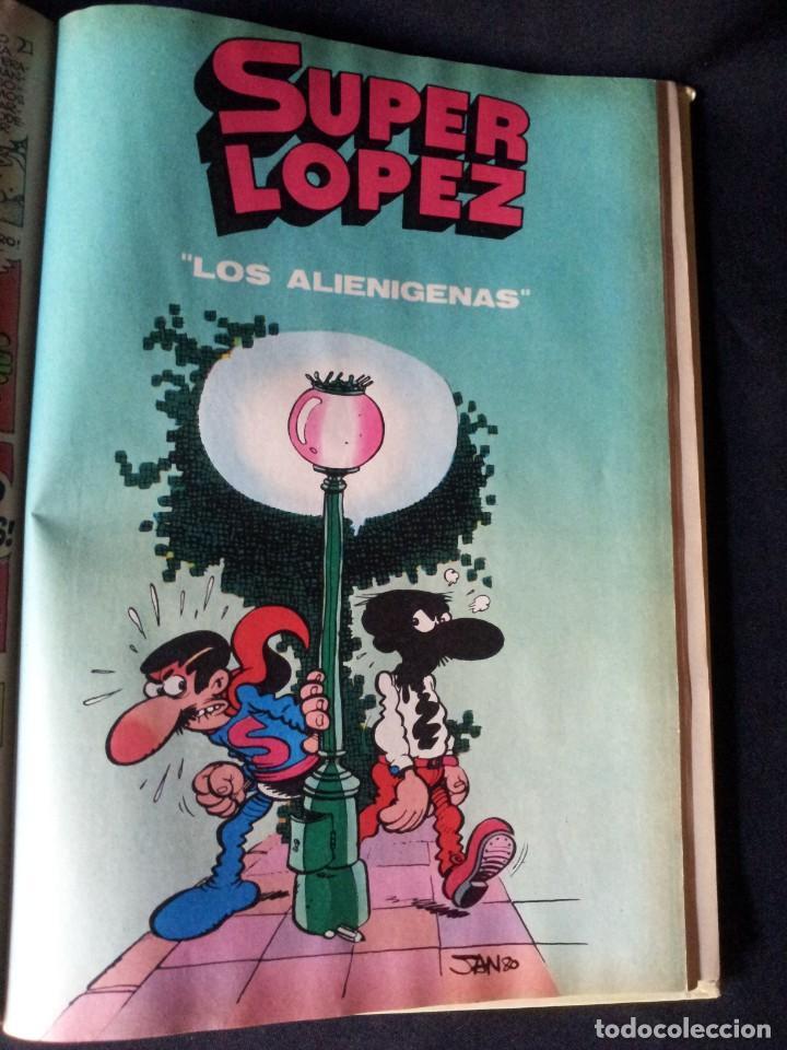 Tebeos: SUPER LOPEZ Nº 1 - BRUGUERA, SEGUNDA EDICION 1983 - Foto 5 - 136656266