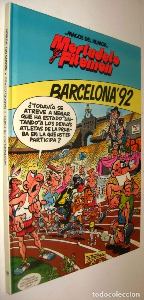 Usado, MORTADELO Y FILEMON - BARCELONA '92 - F.IBAÑEZ - ILUSTRADO * segunda mano