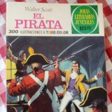 Tebeos: COMIC JOYAS LITERARIAS 15 PTAS WALTER SCOTT EL PIRATA NUMERO 6. Lote 136736782