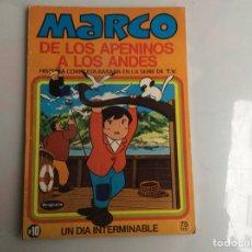 Tebeos: MARCO DE LOS APENINOS A LOS ANDES Nº 10 -EDITA : BRUGUERA. Lote 136744862