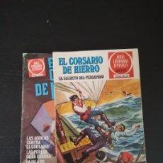 Tebeos: EL CORSARIO DE HIERRO Nº8 Y 55 DE BRUGUERA. Lote 136776526