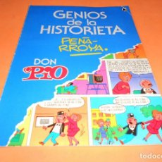 Tebeos: GENIOS DE LA HISTORIETA 2. PEÑARROÑA. DON PÍO. BUEN ESTADO. Lote 136812362